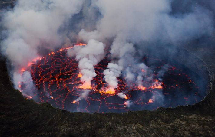 Volcano in DR Congo