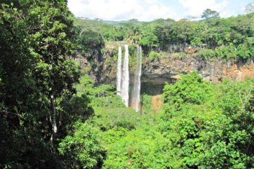 Chamarel Falls in Black River National Park