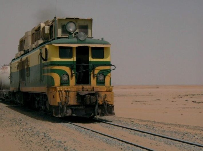 Mauritania's transport network