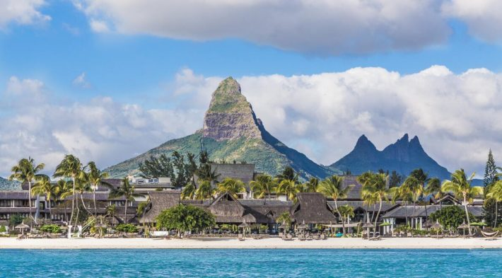 The geography of Mauritius