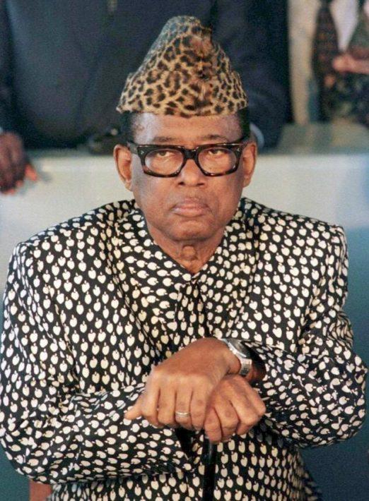 Dictator Mubutu Sese Seko