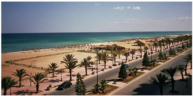 Hammamet's beaches