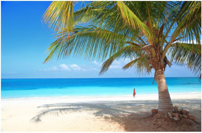 Zanzibar can be reached with package tours