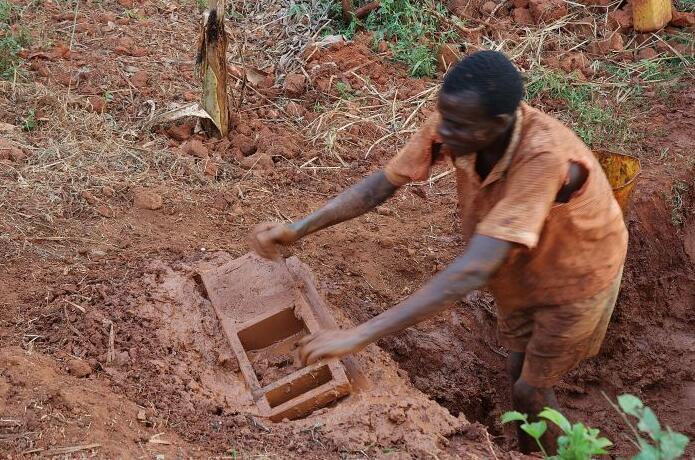 Uganda Brick manufacture